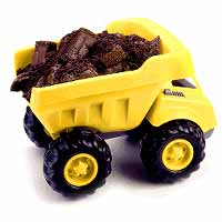 Quick N Easy DIY Dump Truck Cake
