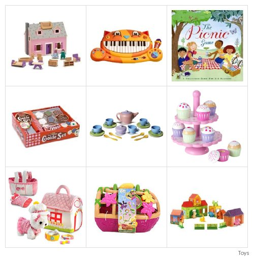 Gifts for 3 Year Old Girls -