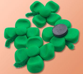 Clover magnet