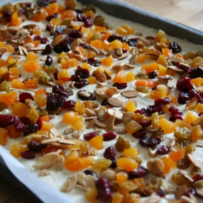 Autumn Almond Bark