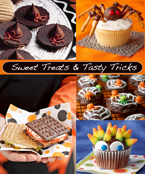 Sweet Treats and Tasty Tricks // Cute Fun Foods For Halloween
