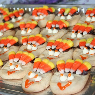 Sweet Little Turkey Cookies
