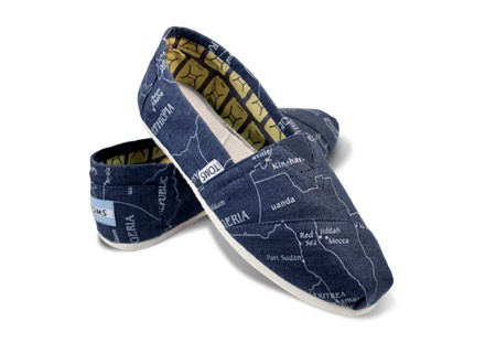 TOMS Map Classics - great gift that gives back!