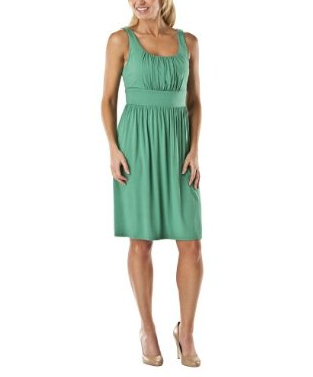 Scoop Neck Clover Dress