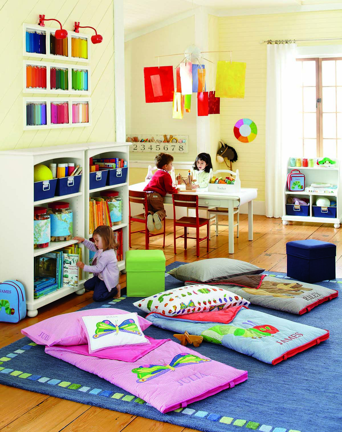 Sneak peek at pb kids the very hungry caterpillar line - Small spaces big design decoration ...