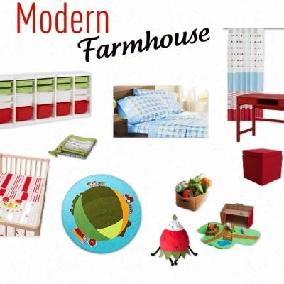 Boy Girl Shared Farmhouse Room