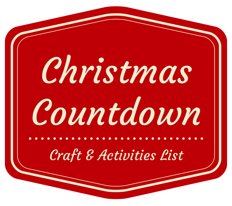Countdown to Christmas: Great list of crafts, activities and family outings