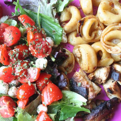 Balsamic Chicken & Toasted Tortellini