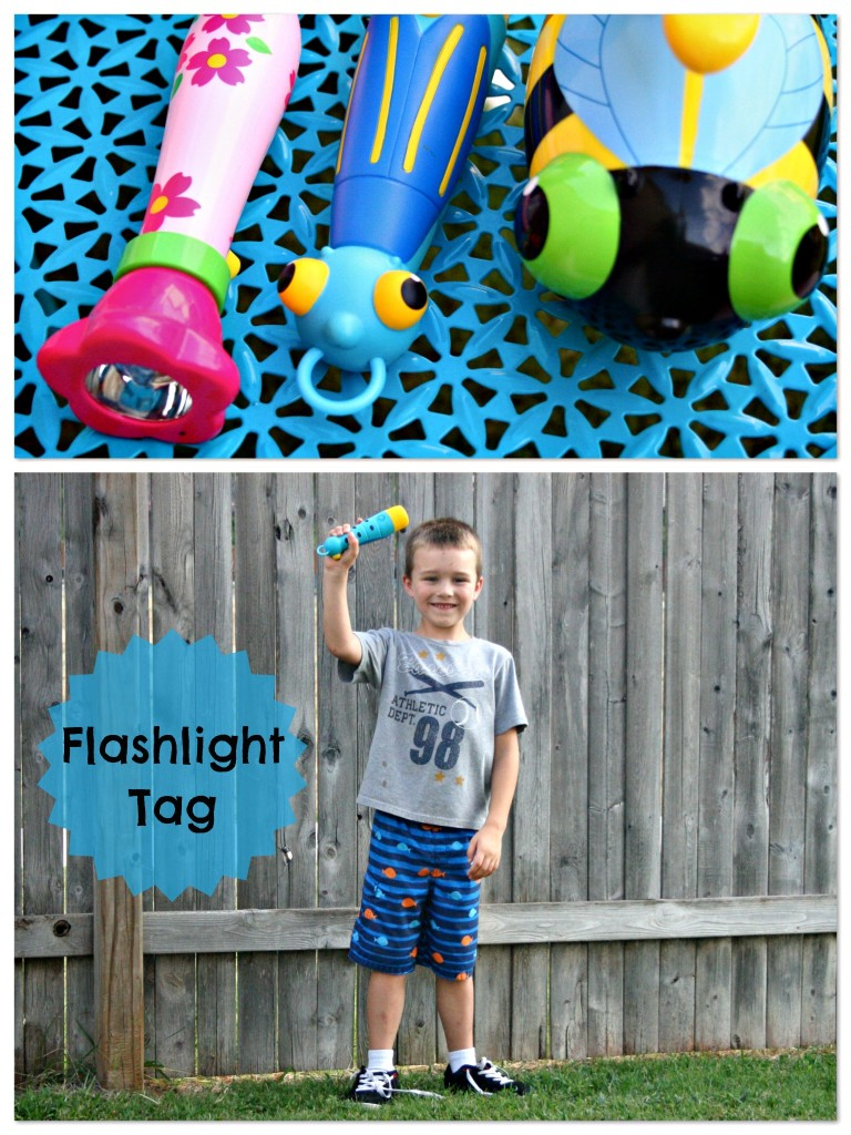 Summer Fun Classic Kids Game- Flashlight Tag