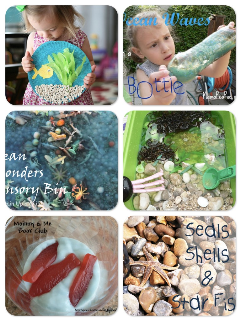 Ocean Themed Activities for Kids