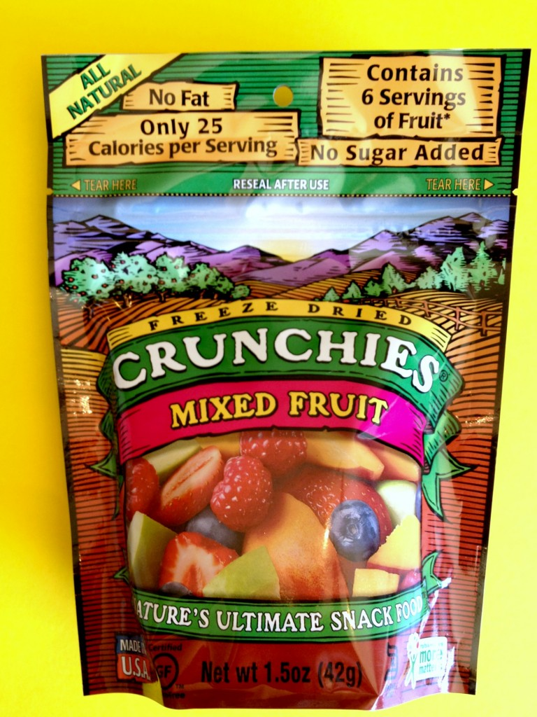 crunchies mixed fruit