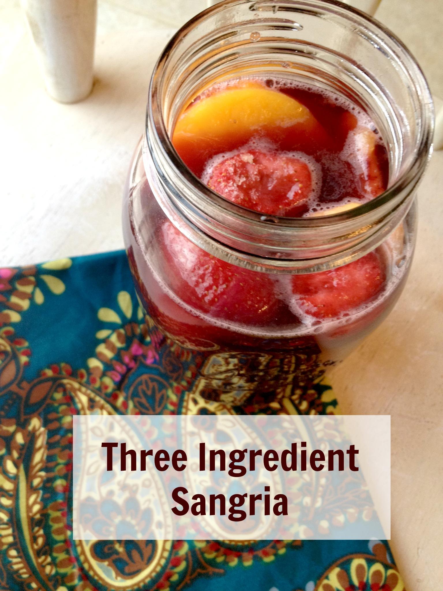 southwestern chopped salad 3 ingredient sangria. Black Bedroom Furniture Sets. Home Design Ideas