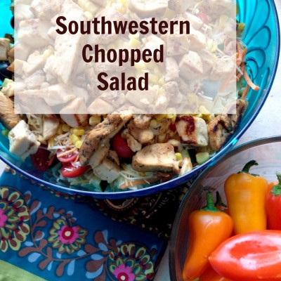 Southwestern Chopped Salad & 3-Ingredient Sangria