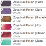 zoya nail color choices