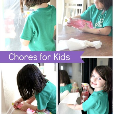 Chores For Kids: The Preschool & Kindergarten Edition