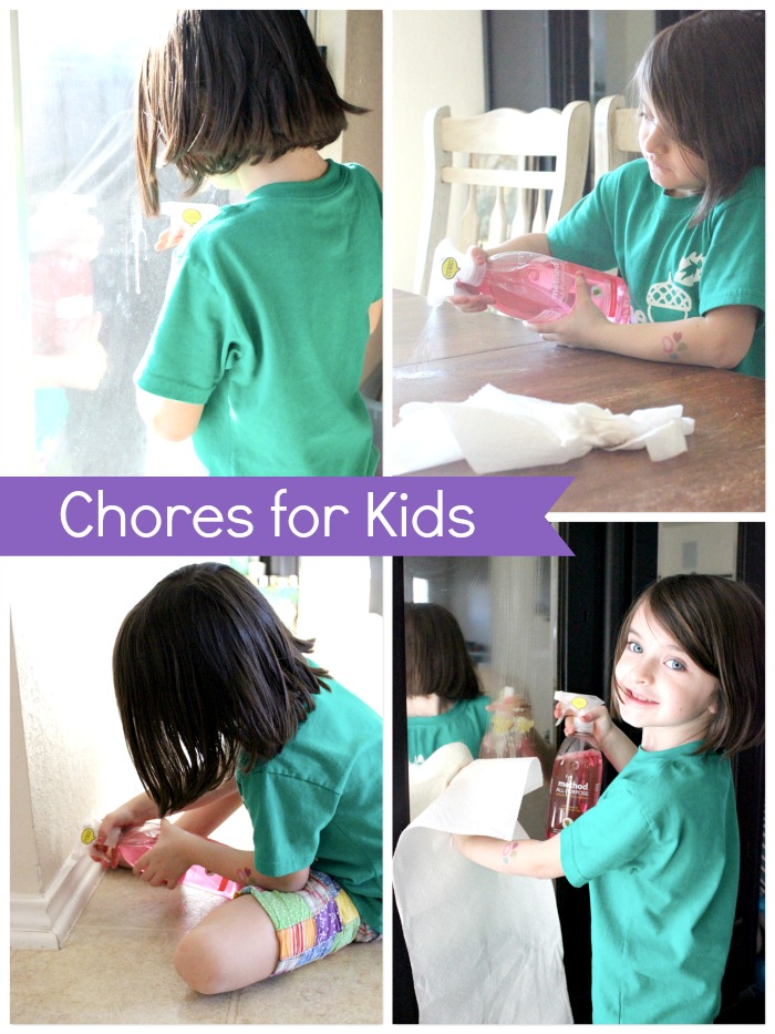 household chores for kids