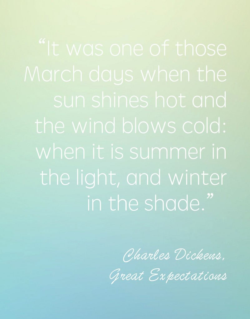 Love Quote Signs Signs Of Spring Great Expectations
