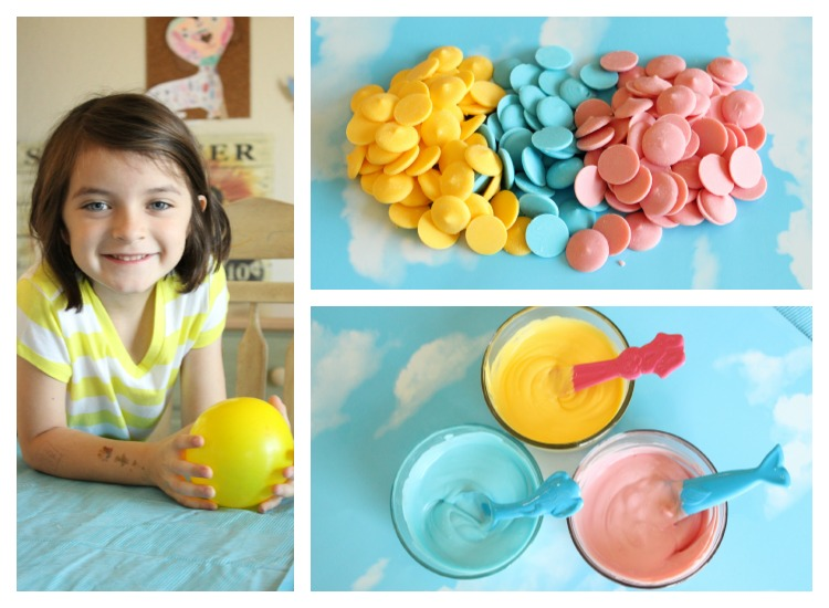 bowls made from candy melts