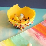 yellow candy bowl