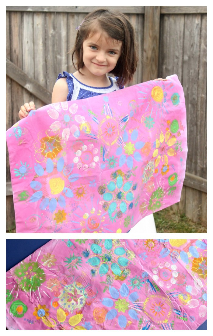 kids pillowcase craft project