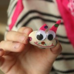 great afternoon activity for the kids - make your own stone pets