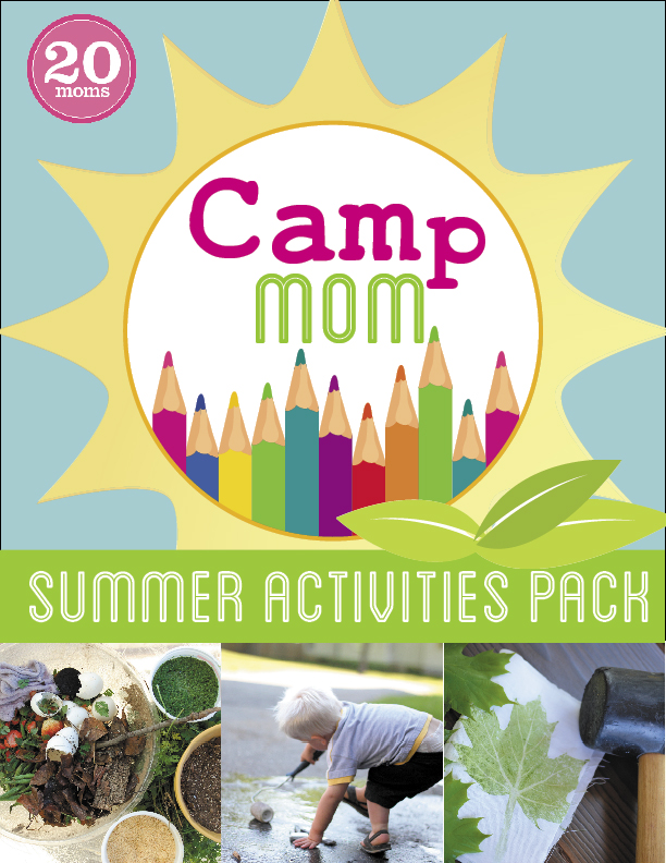 Camp Mom Summer Activities Pack - the ultimate tool for a summer of family fun