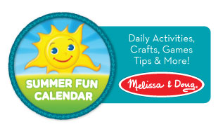 Melissa & Doug Summer Calendar series