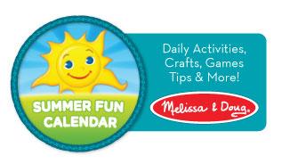 Melissa & Doug Summer Calendar series