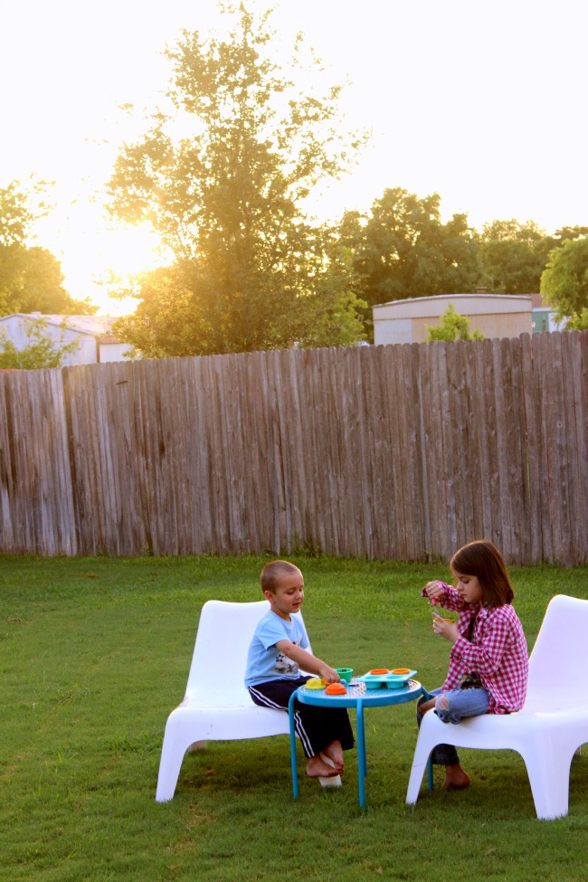 Backyard Ice Cream Party | Kids Stuff World