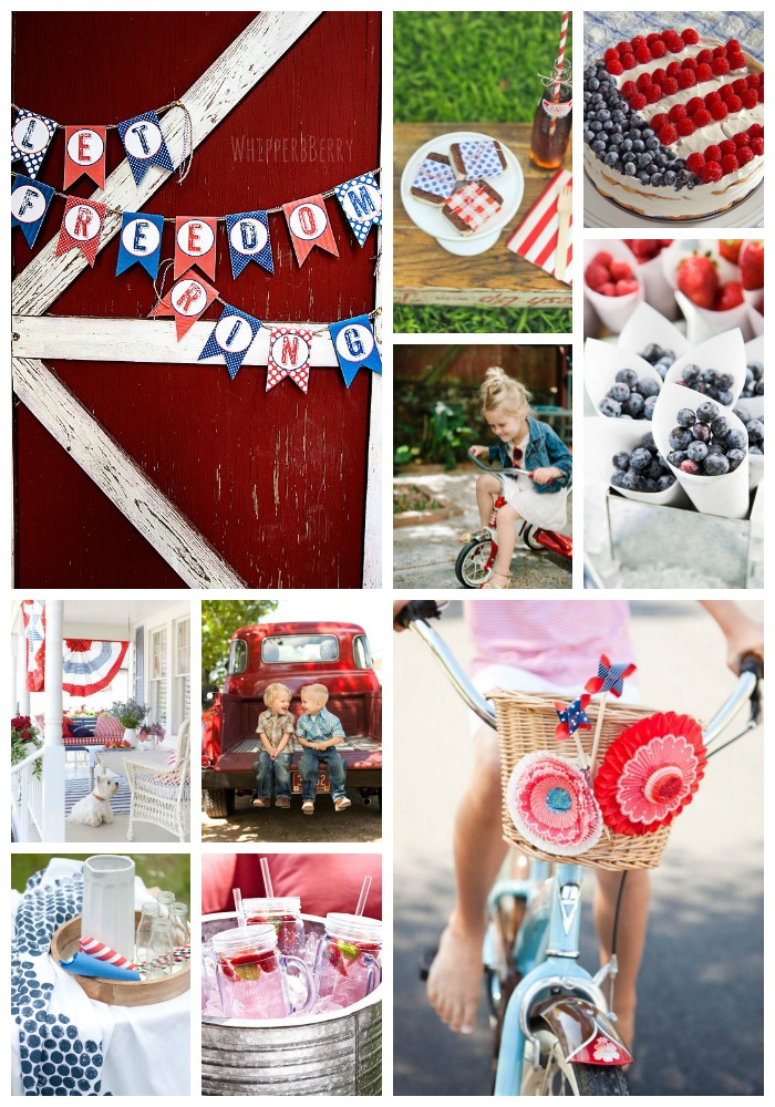 Celebrate /// A Downhome Independence Day | KidsStuffWorld.com