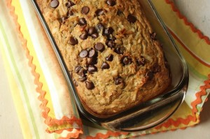 Chocolate Chip Coconut Banana Bread (from Kids Stuff World)