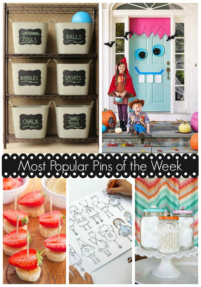 Most Popular Pins of the Week for Moms: Great ideas for family fun, maintaining the home, and getting ready for fall