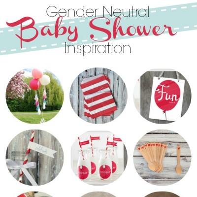 Planning a Gender Neutral Baby Shower