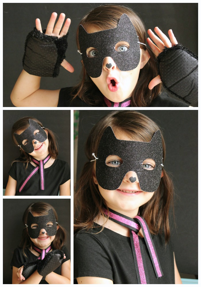 (10 minute kitty costume) super simple diy halloween costumes for kids