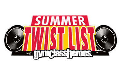 Summer Twist List: Free Download of summer classics covered by Gym Class Heroes <-- been listening to this all summer!