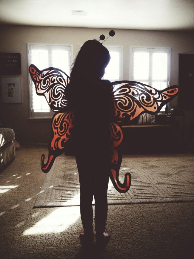 Simple Things: Spreading Her Wings