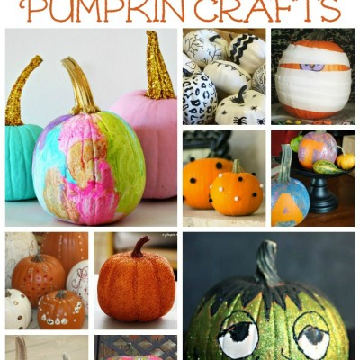10 Simple Pumpkin Crafts