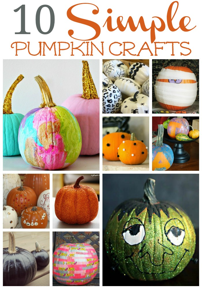 10 simple pumpkin crafts that dont involve carving