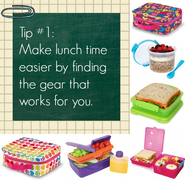 We love those bags & containers --> Make packing lunches easier on yourself by finding the right gear for your family