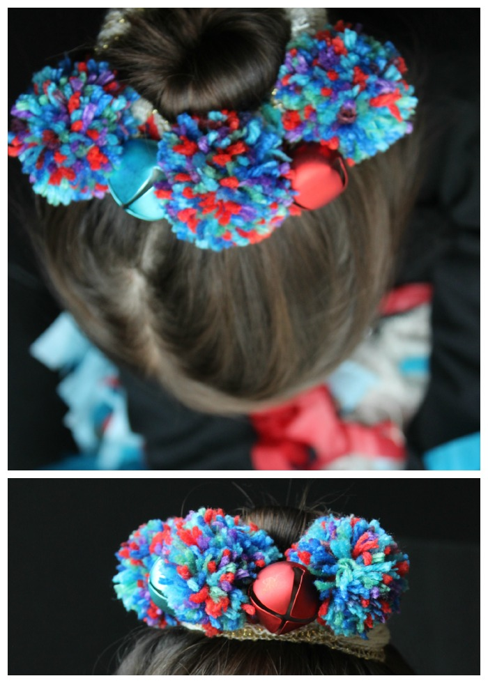 Gifts Kids Can Make: Pom Pom Headpiece for Girls