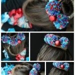 DIY Pom Pom Headpiece for Girls