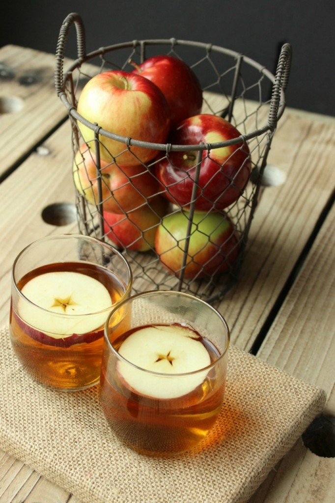 Spend some time chatting with the ones you love over a glass of hot apple cider #sharetheseason
