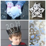 Fun ideas for kids for the last week of winter break and perfect for New Years too!