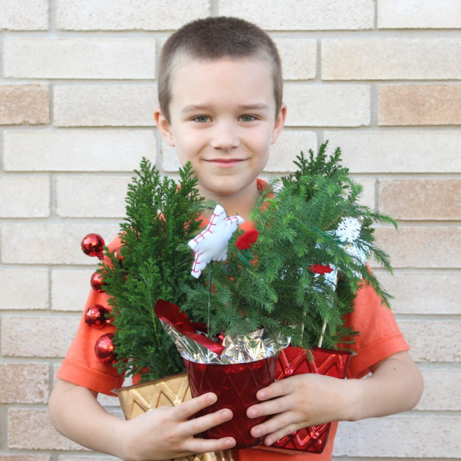 Help this little guy plant a forest for his 8th birthday