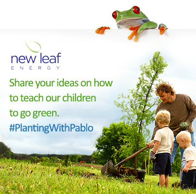Share your ideas on how to teach our children to go green #PlantingWithPablo