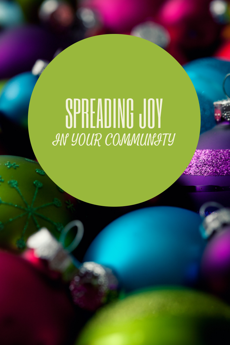 Spreading Joy and Goodwill in your Community