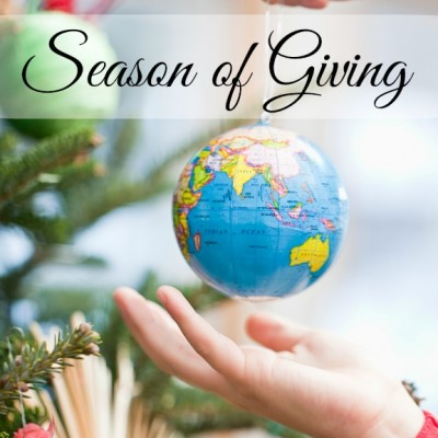 A Season of Giving: 31 Days of Spreading Joy