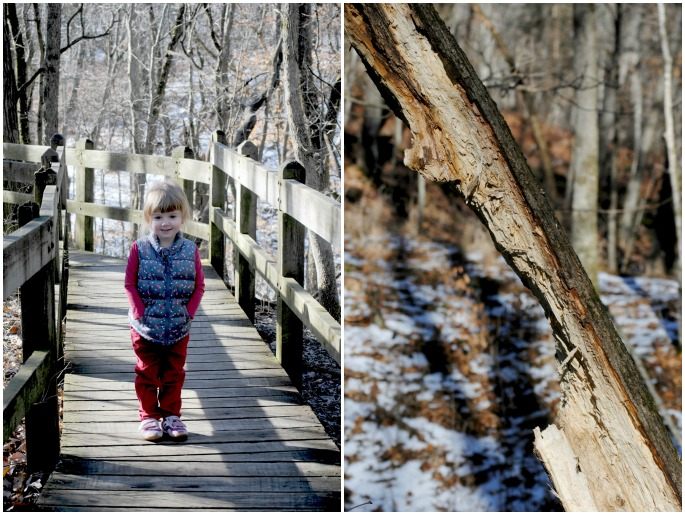 simple ways to make a winter walk a fun and simple outing for your family