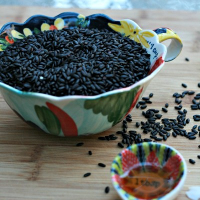Healthy Breakfast: Black Rice Porridge