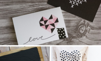 Geometric hearts are all the rage this year, here's three of the best craft projects you can make yourself!